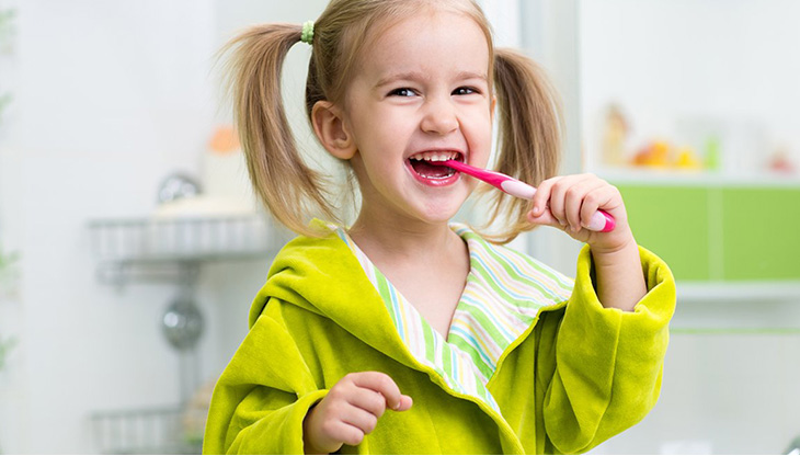 Taking care of children's teeth - When should the child start using a toothbrush?