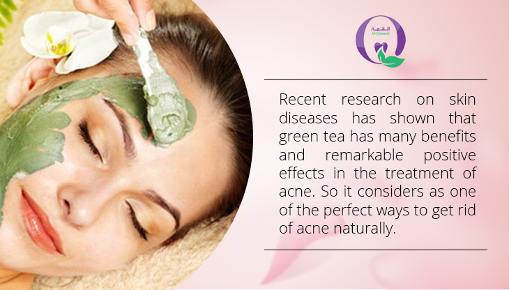 Ways to get rid of acne naturally - Green Tea