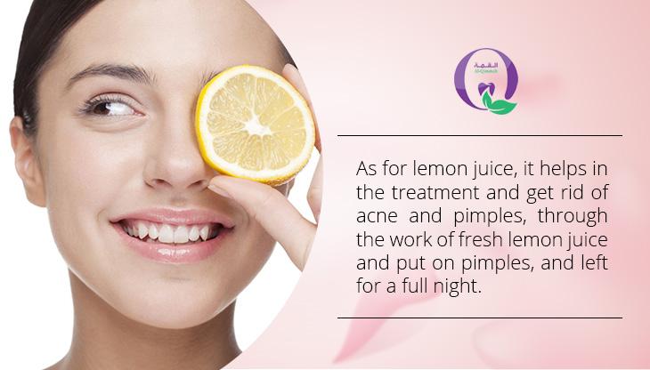 Ways to get rid of acne naturally - Lemon Juice