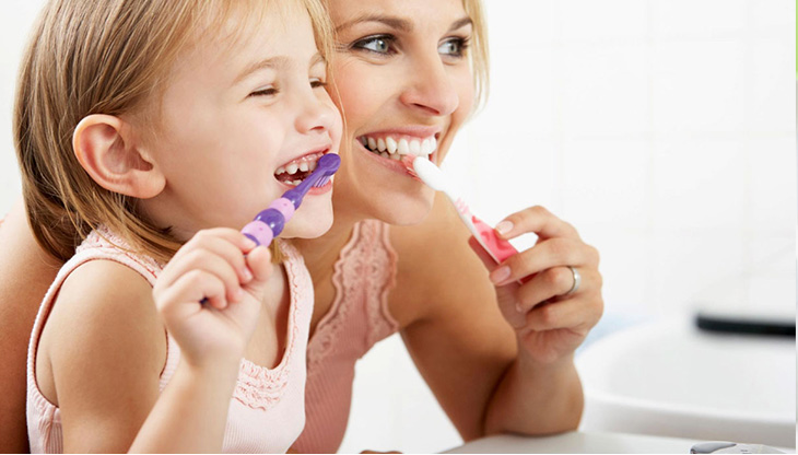 Taking care of children's teeth - Have a good time while brushing your teeth